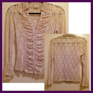 Lace Top by M & S Mode
